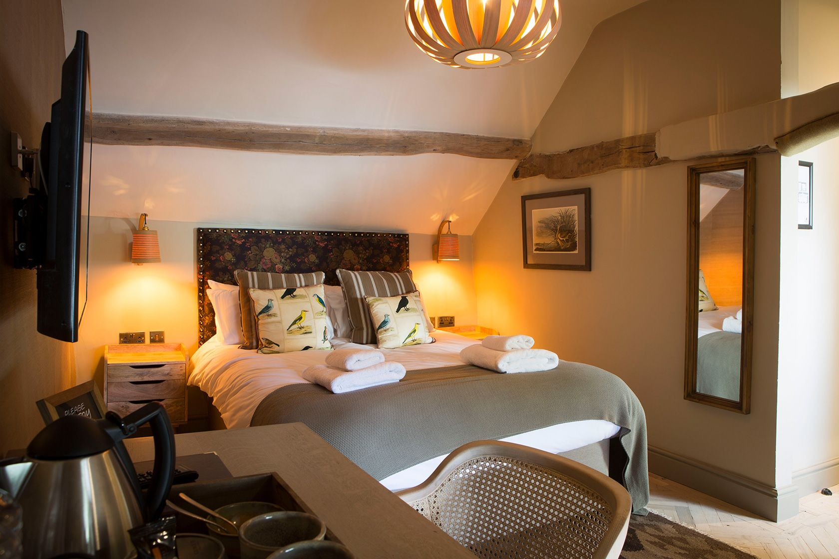 Our rear view room offers a great value stay at one of the best hotels and pubs near Snowdonia National Park